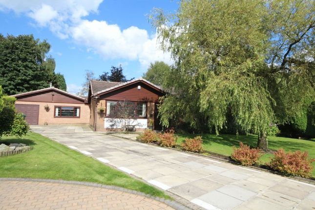 Thumbnail Detached bungalow for sale in Rochbury Close, Bamford, Rochdale