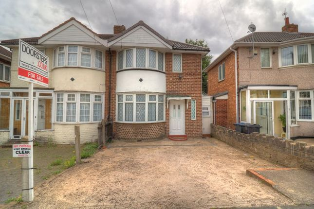 Thumbnail Semi-detached house for sale in Harts Road, Saltley, Birmingham