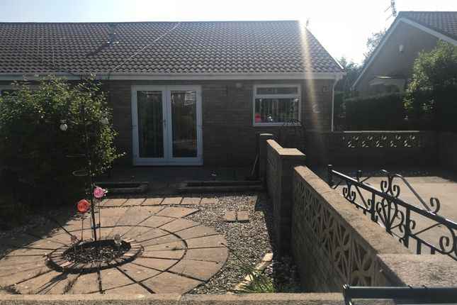 Thumbnail Semi-detached bungalow to rent in Monmouth Drive, Merthyr Tydfil