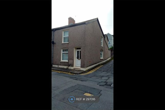 Thumbnail End terrace house to rent in Harcourt St, Ebbw Vale