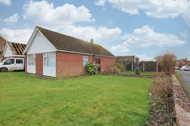 Thumbnail Detached bungalow for sale in Mount Close, Nantwich, Cheshire