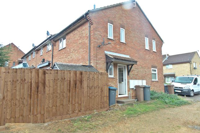 Thumbnail End terrace house to rent in Brightwell Close, Felixstowe