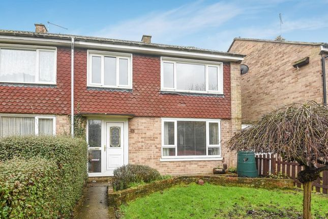 Thumbnail Terraced house for sale in Ruskin Walk, Bicester