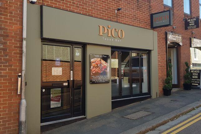 Thumbnail Restaurant/cafe to let in Church Street, Bishop'S Stortford