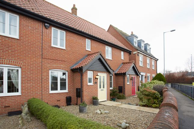 Thumbnail Terraced house to rent in The Street, Poringland, Norwich