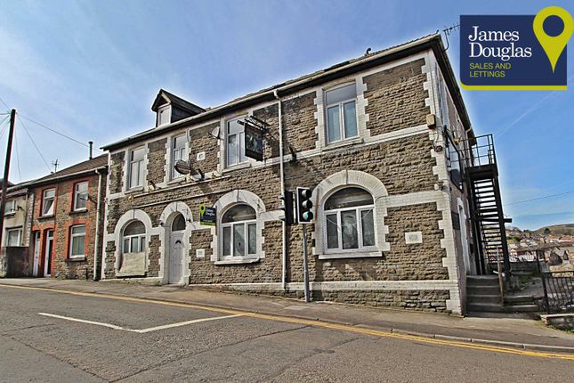 Front External of Mountain View Apartments, Llantrisant Road, Pontypridd, Rhondda Cynon Taff CF37