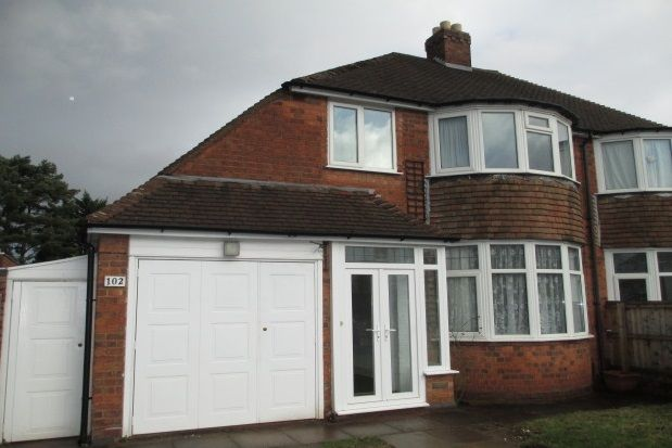 Thumbnail Property to rent in Halton Road, Sutton Coldfield