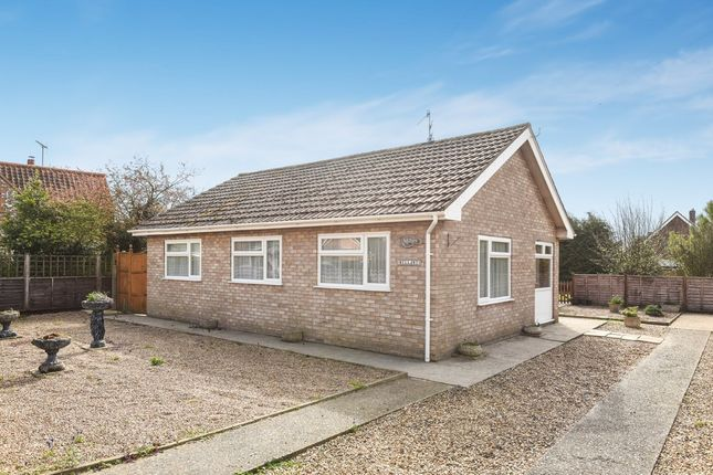 Thumbnail Detached bungalow for sale in Mill Road, Wells-Next-The-Sea