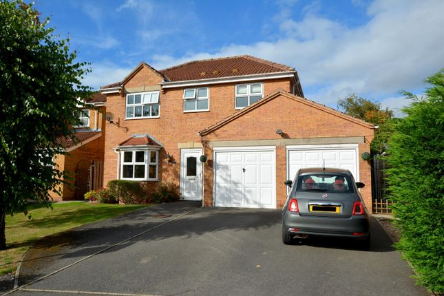 Thumbnail Detached house for sale in Burrs Wood Croft, Upper Newbold, Chesterfield