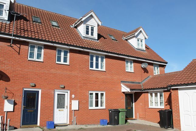 Thumbnail Terraced house for sale in Rose Terrace, Diss, Norfolk
