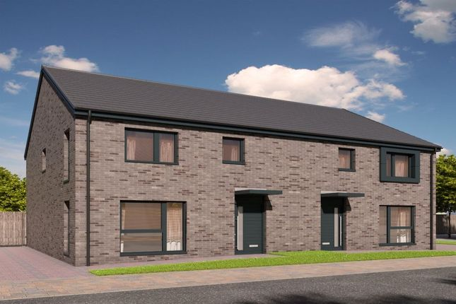Thumbnail Semi-detached house for sale in Devongrange, Sauchie, Alloa
