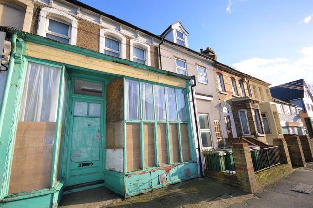 Thumbnail Terraced house for sale in Risborough Lane, Cheriton, Folkestone
