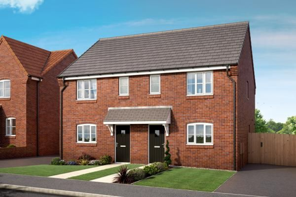 "3 bedroom property for sale in ""The Meadowsweet At Hedgerows, Bolsover"" at Mooracre Lane, Bolsover, Chesterfield"