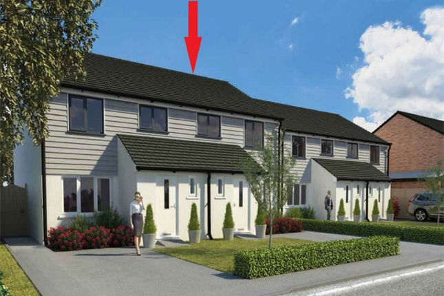 Thumbnail Semi-detached house for sale in Parcandowr Gardens, Parcandowr, Grampound Road, Truro, Cornwall