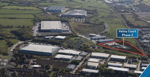 Thumbnail Light industrial for sale in Valley Court - Phase 2, Midpoint 18, Middlewich, Cheshire