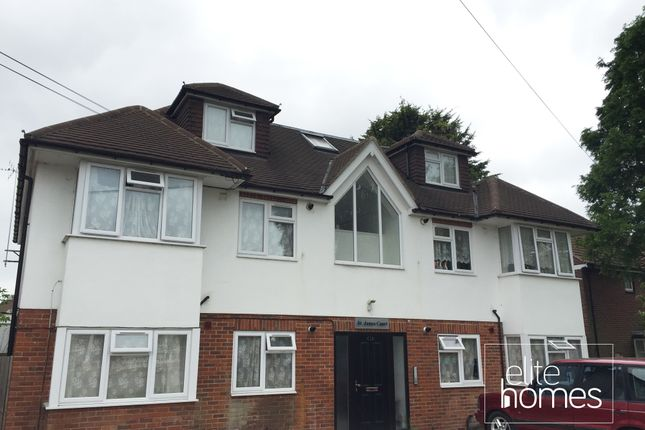Thumbnail Flat to rent in Grove Road, Chingford