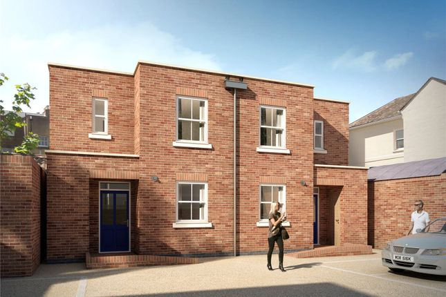 Thumbnail Semi-detached house for sale in Hewlett Mews, Hewlett Place, Cheltenham, Gloucestershire