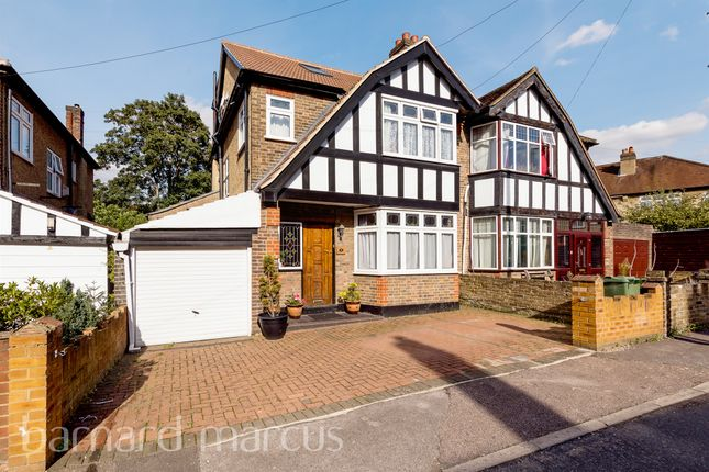 Thumbnail Semi-detached house for sale in Crescent Grove, Mitcham