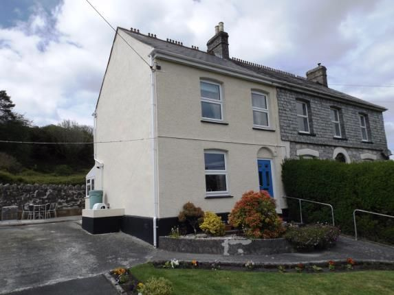 Thumbnail Semi-detached house for sale in Stenalees, St. Austell, Cornwall