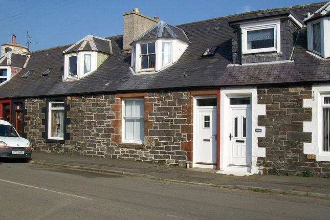 Thumbnail Terraced house for sale in Stoneykirk, Stranraer, Dumfries And Galloway.