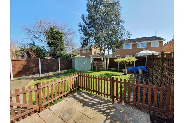 Rear Garden of Forest Drive, Broughton, Chester CH4