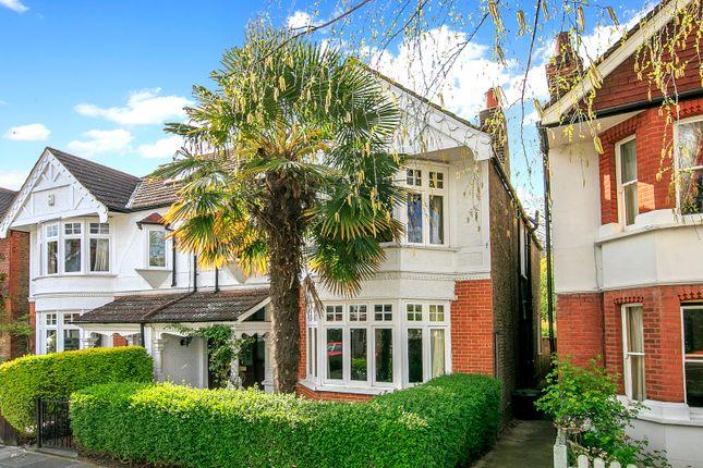Thumbnail Semi-detached house for sale in Burlington Avenue, Kew, Surrey
