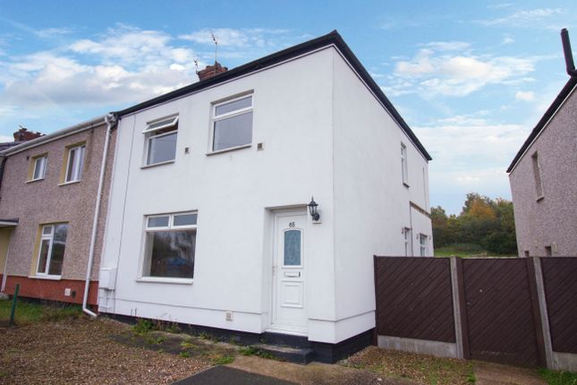 Thumbnail Semi-detached house to rent in The Avenue, Askern, Doncaster