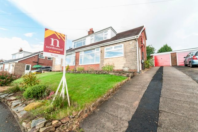 Thumbnail Semi-detached house to rent in Denhill Drive, Oldham