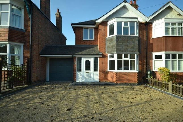 Thumbnail Semi-detached house for sale in Shanklin Drive, Leicester