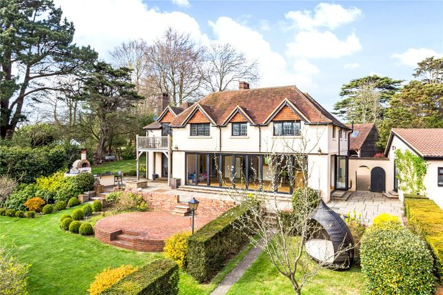 Thumbnail Detached house for sale in Brighton Road, Woodmancote, Henfield, West Sussex