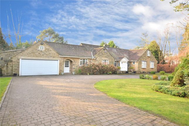 Thumbnail Bungalow for sale in Three Gables, Manor House Lane, Alwoodley, Leeds