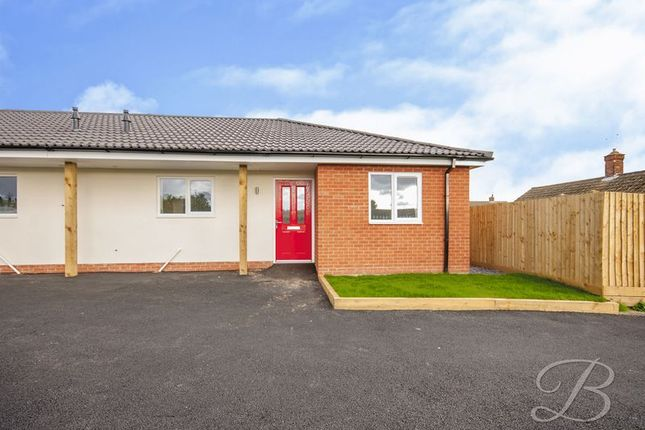 Thumbnail Semi-detached bungalow for sale in Keyworth Close, Mansfield