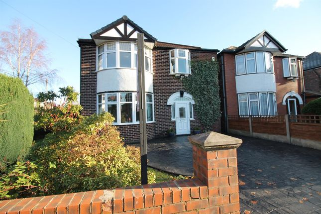 Thumbnail Detached house for sale in Cranford Road, Flixton, Manchester