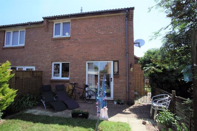 Thumbnail End terrace house for sale in Harris Close, Churchdown, Gloucester