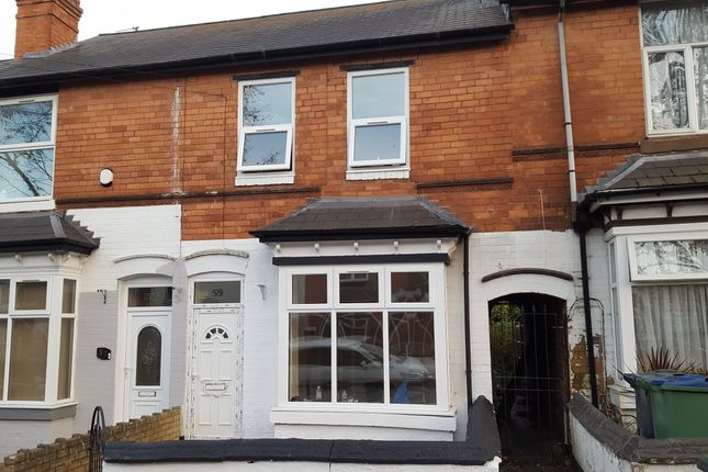 Thumbnail Terraced house to rent in Cemetery Road, Smethwick