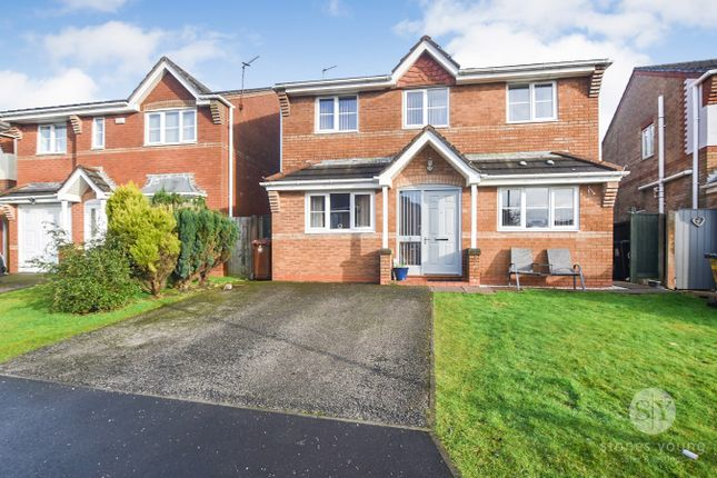 4 bed detached house for sale in Knight Crescent, Lower Darwen, Darwen BB3