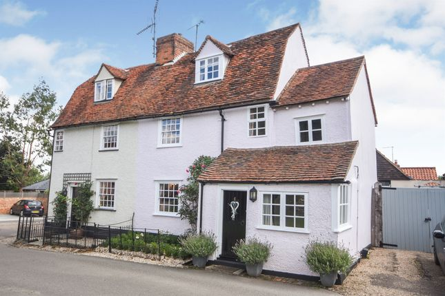 Thumbnail Cottage for sale in St. Johns Green, Writtle, Chelmsford