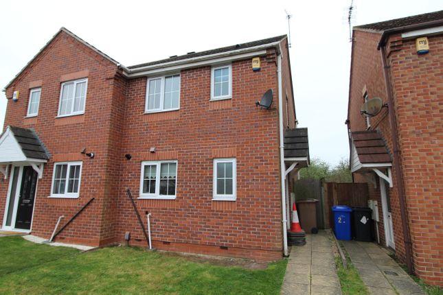 Thumbnail Semi-detached house to rent in Copestake Close, Long Eaton, Nottingham