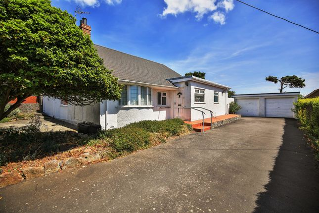 Thumbnail Detached bungalow for sale in Clevedon Avenue, Sully, Penarth