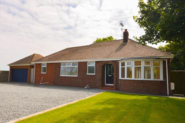 Thumbnail Detached bungalow for sale in Smook Hills Road, Hollym, Withernsea