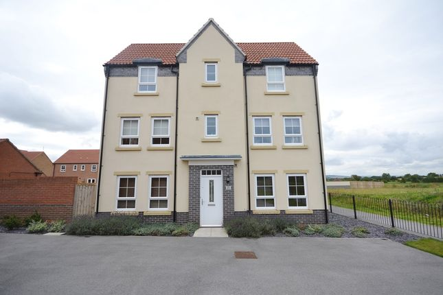 Thumbnail End terrace house for sale in West Garth, Cayton, Scarborough