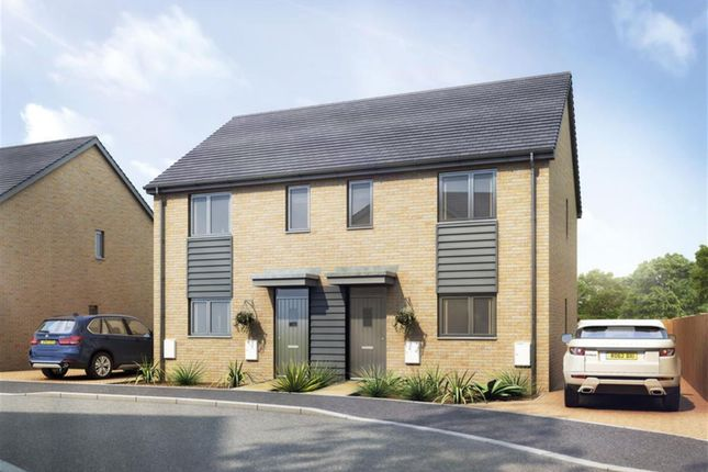 Thumbnail End terrace house for sale in 7 Wyatt Close, Dursley