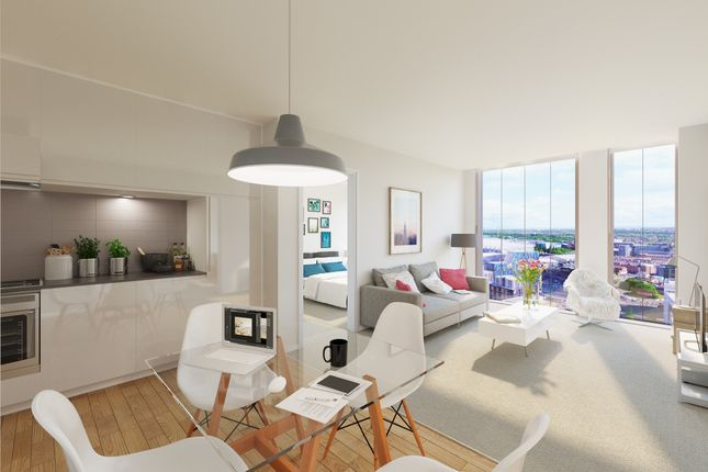 Thumbnail Flat for sale in Rutherford Street, Newcastle