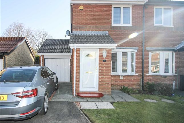 2 bed semi-detached house to rent in Plaistow Way, Cramlington NE23