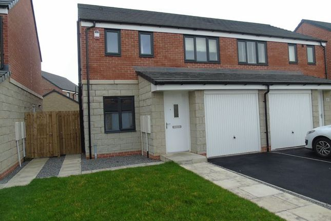 Thumbnail Semi-detached house to rent in St. Hildas Place, Blaydon-On-Tyne