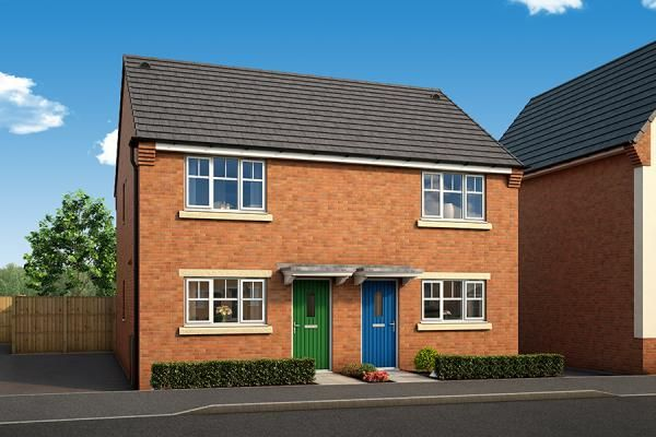 "Thumbnail Property for sale in ""The Elm At The Willows, Dudley"" at Middlepark Road, Dudley"