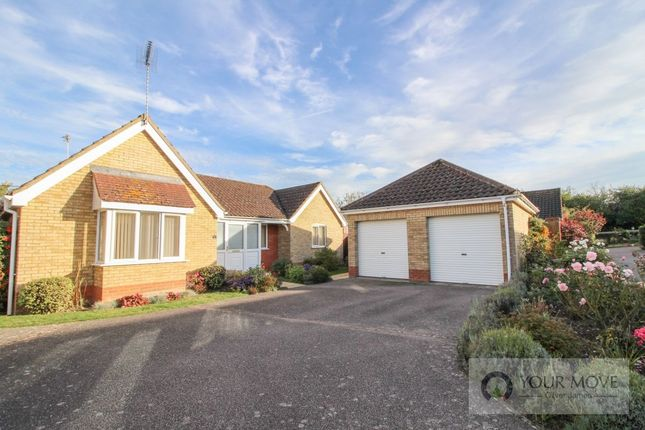 Thumbnail Bungalow for sale in Will Rede Close, Beccles