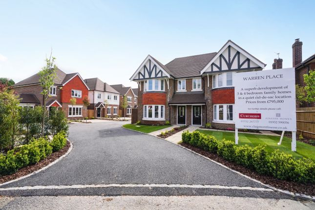 Thumbnail Semi-detached house for sale in The Furrows, Walton-On-Thames
