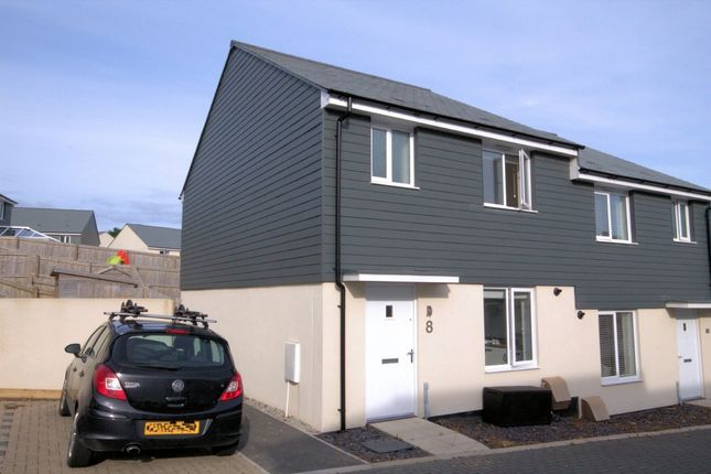 3 bed semi-detached house for sale in Kingston Way, Mabe Burnthouse, Penryn
