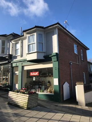 Thumbnail Commercial property for sale in 21 High Street, Shanklin, Isle Of Wight